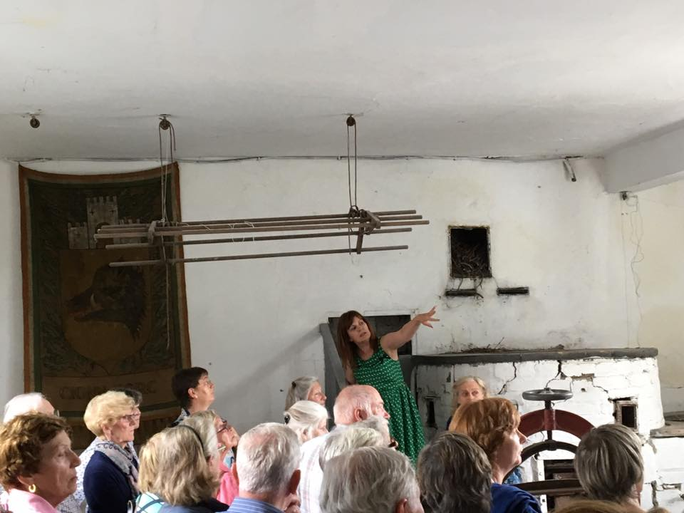 Kitchen Tours at Tullynally Castle
