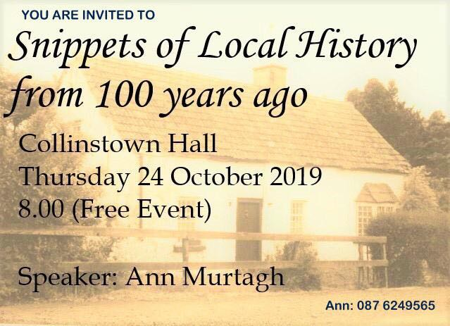 Collinstown: Snippets Of History